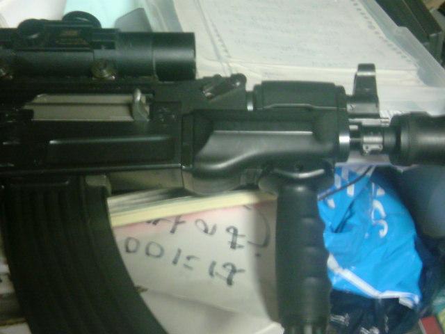 愛銃AK47スぺツナズ カラシニコフ