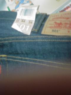 定額給付金 で買ったジーンズ リーバイス501